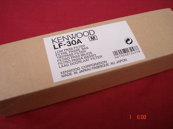 Kenwood LF-30A Low Pass Filter - RCQ Communications Limited