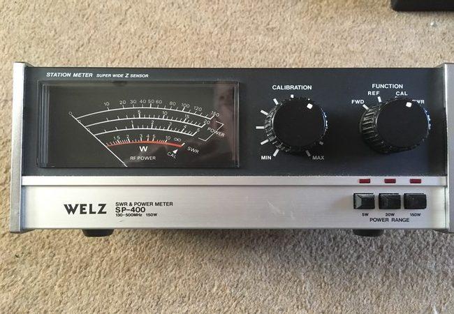Welz SP-400 VHF/UHF SWR Meter - RCQ Communications Limited